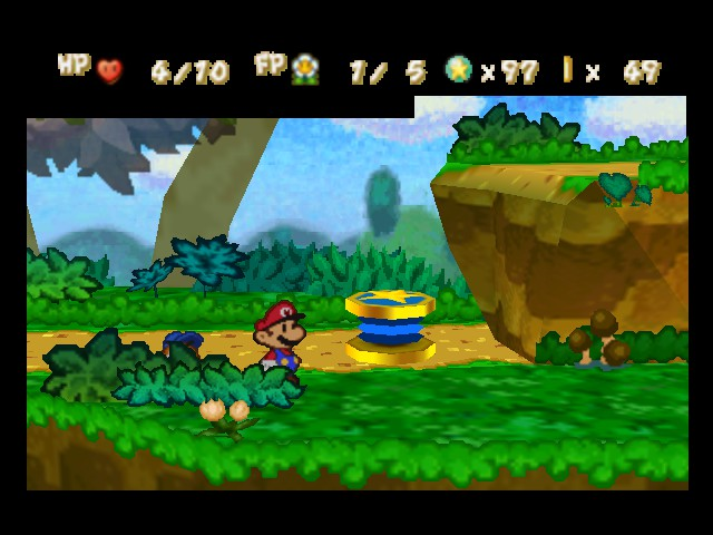 Paper Mario - Level  - Let